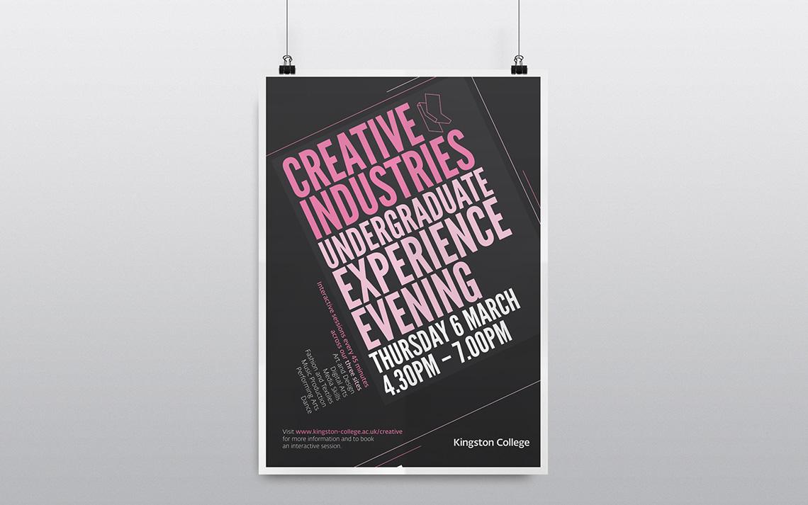Kingston College Undergraduate Poster 2